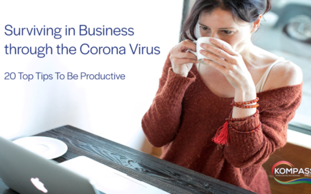 Surviving in Business through the Corona Virus 20 Top Tips